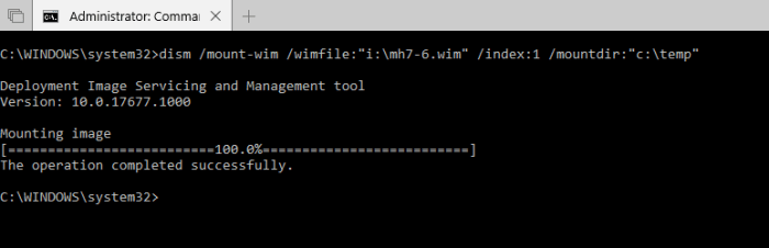 image 3 - How To Mount and Update Windows Image Files (WIM)