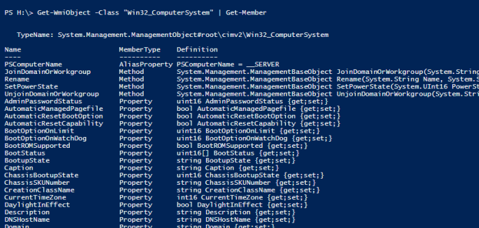 How To Get the Full List of Properties of A PowerShell