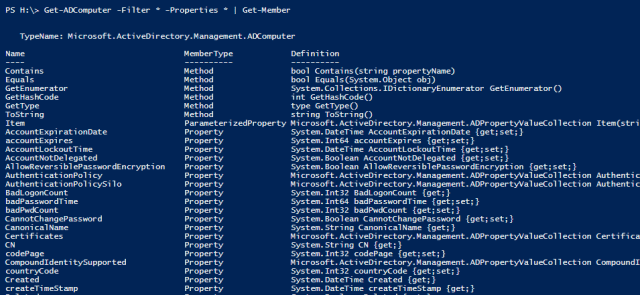 image 13 - How To Get the Full List of Properties of A PowerShell Object