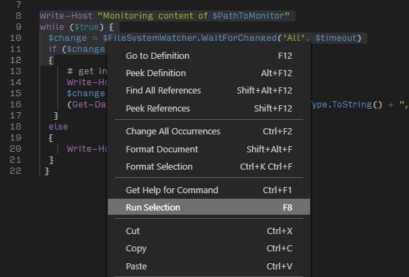image 7 - Setting Up Visual Studio Code for PowerShell