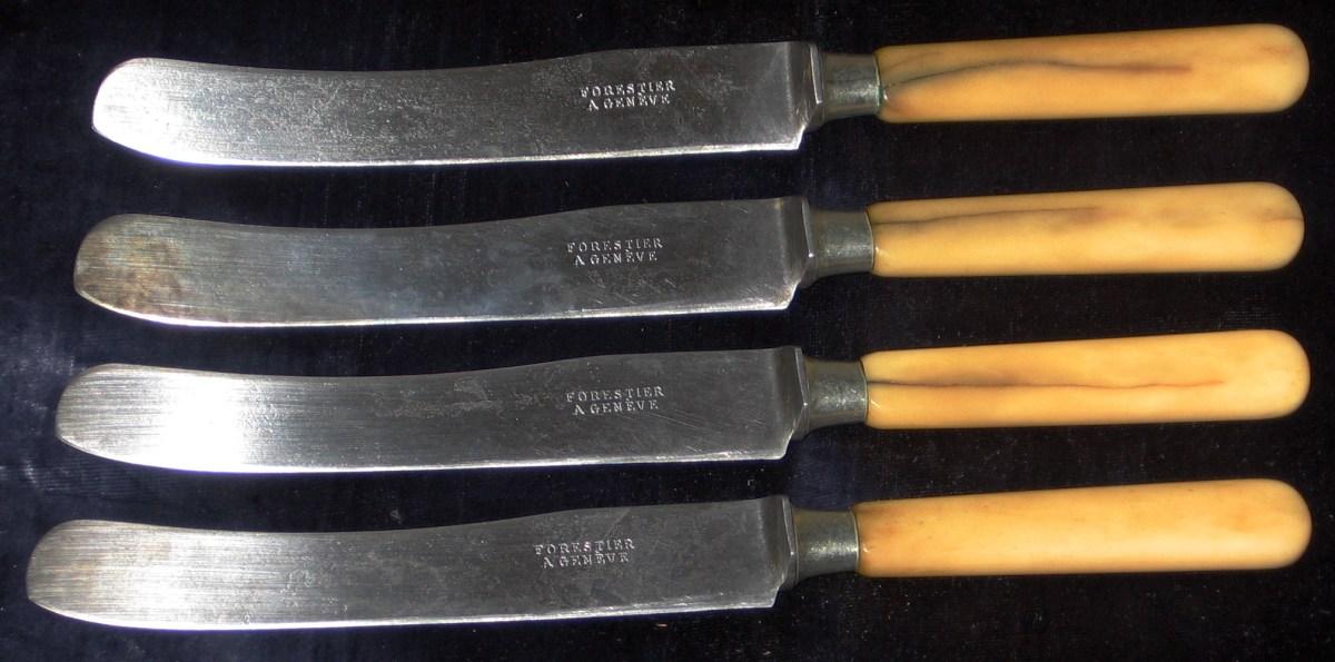 Fjerne rust fra kniver - et raskt og enkelt triks