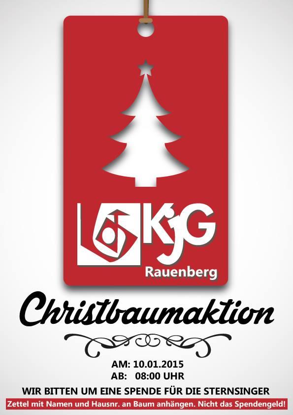 Christbaumaktion 2014