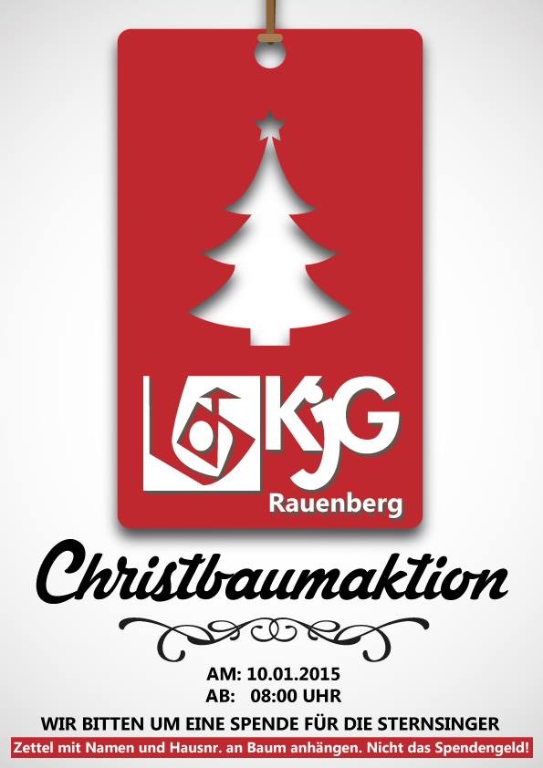 Christbaumaktion 2014