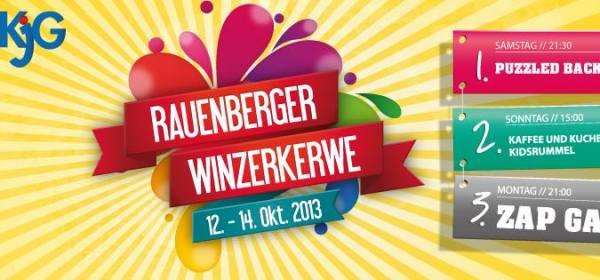 Programm Winzerkerwe 2013