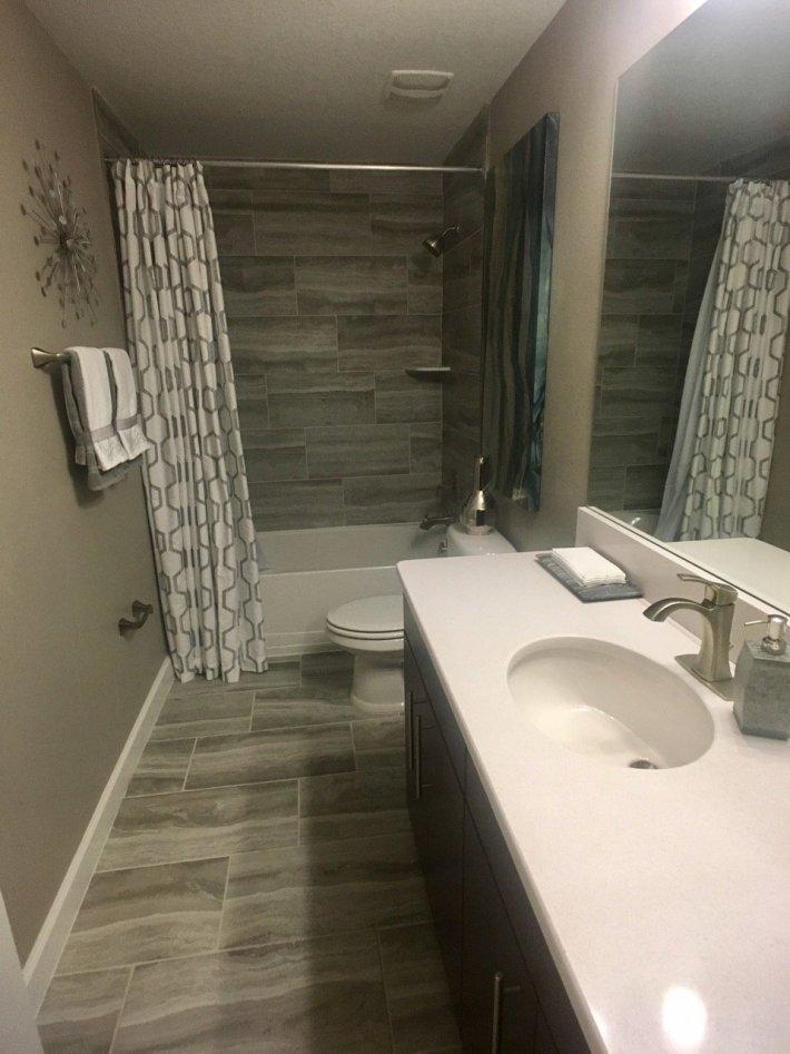Polished Bathroom Interior Design