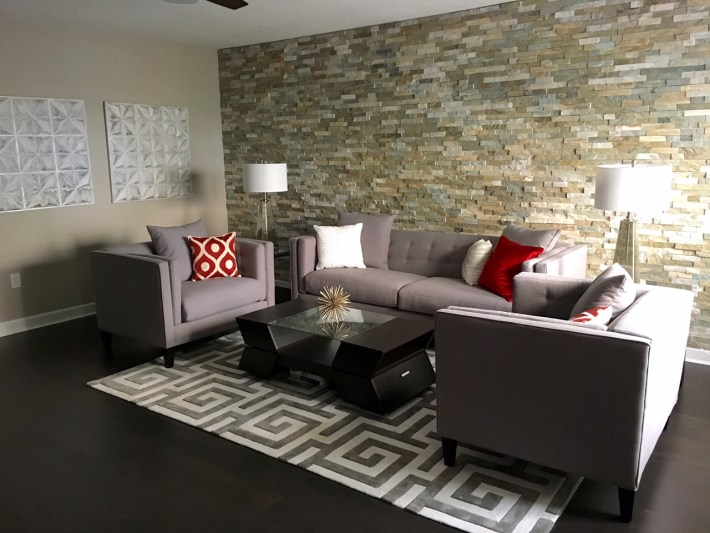 Feature Wall Living Room Design