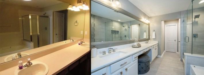 Bathroom Interior Design - K Jillian Designs