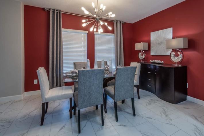 Bold Dining Room Design