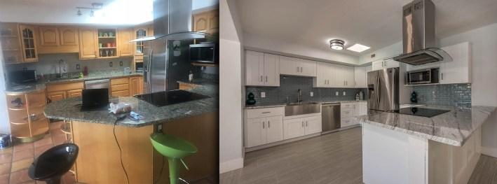 Before & After Kitchen Interior Design 03-31-2019