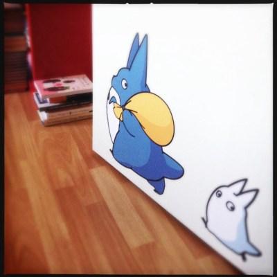 Totoro prins in Biroul de Plush