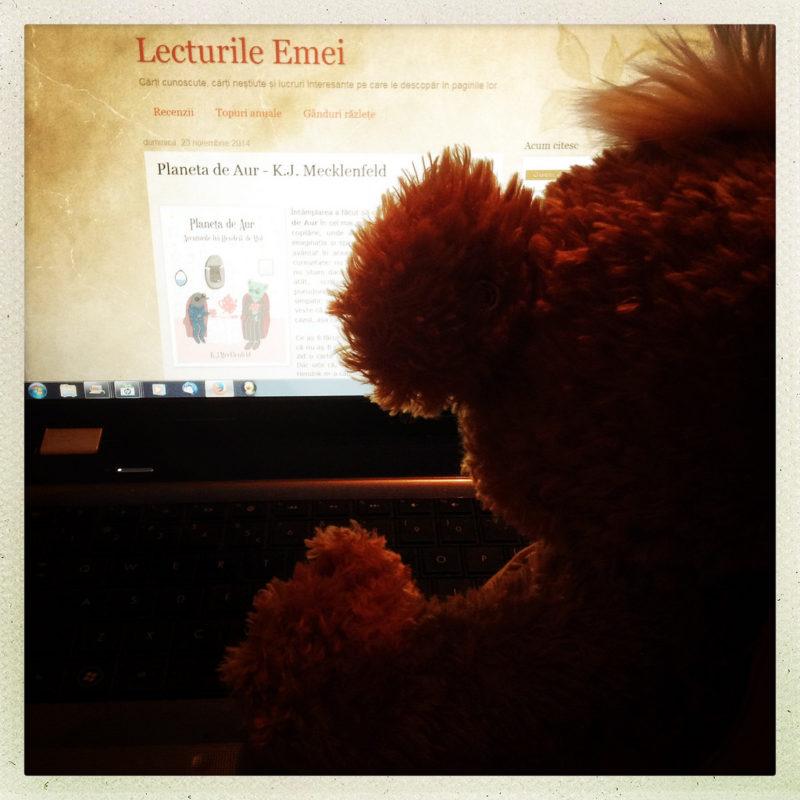 Knopf citește recenzia de pe Lecturile Emei