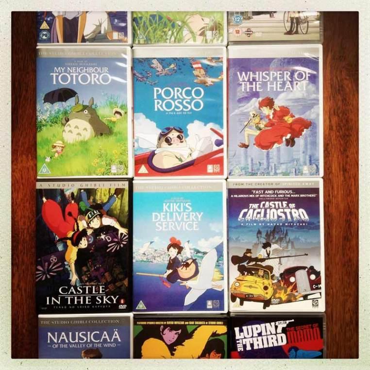 filmele lui Hayao Miyazaki