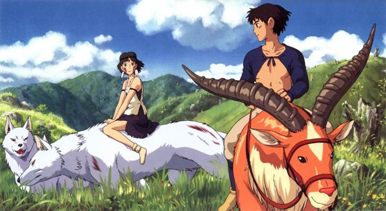 Hayao Miyazaki - Prințesa Mononoke