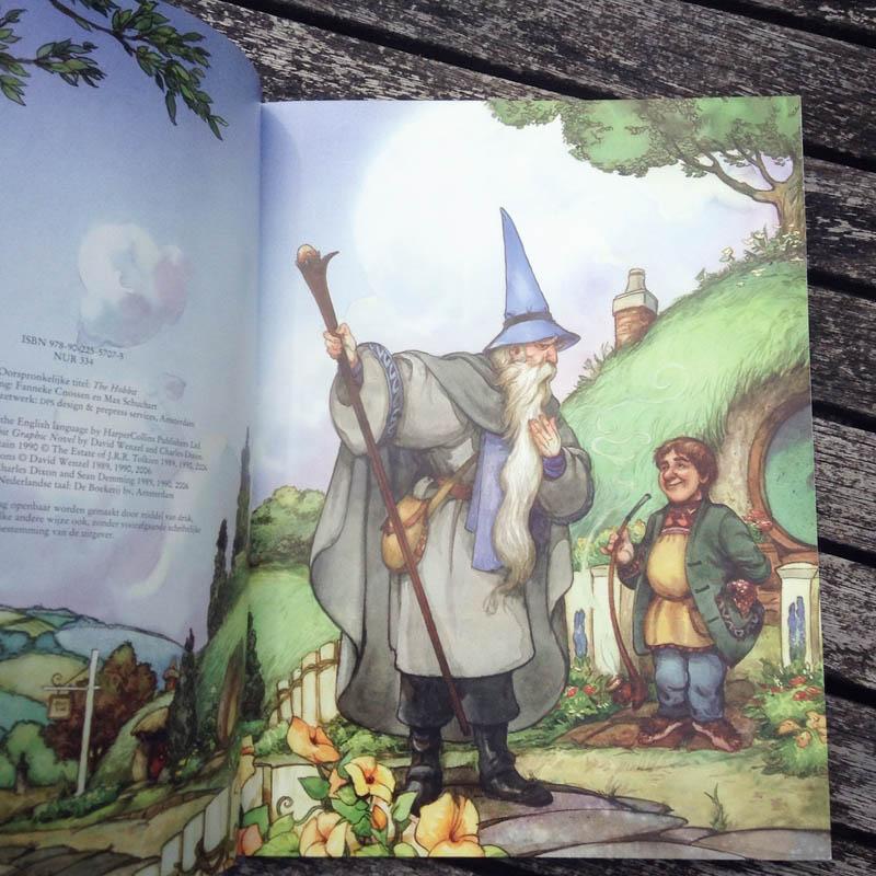 De Hobbit - Gandalf and Bilbo