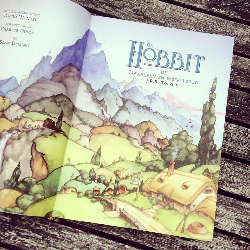 De Hobbit - cover page