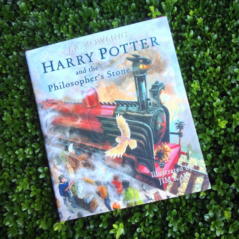 Harry Potter illustrated - cover