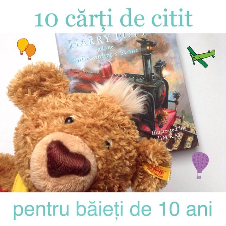 10 cărți de citit pentru băieți de 10 ani