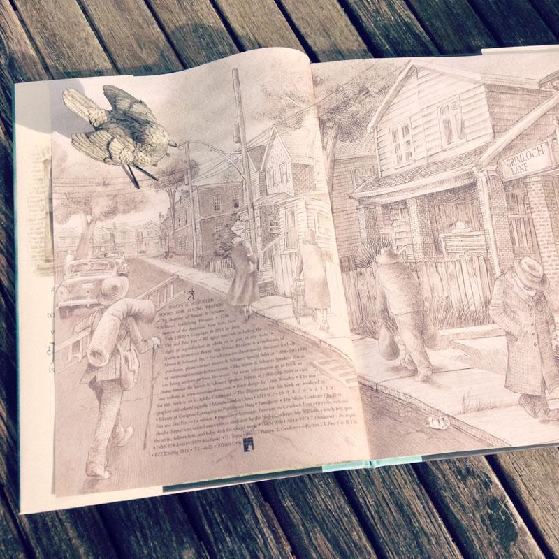 The Night Gardener - The Fan Brothers - detalii carte si editura