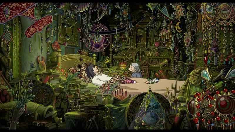Castelul mișcător al lui Howl - Hayao Miyazaki - Howl în camera sa