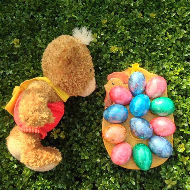 Knopf și ouăle de Paște