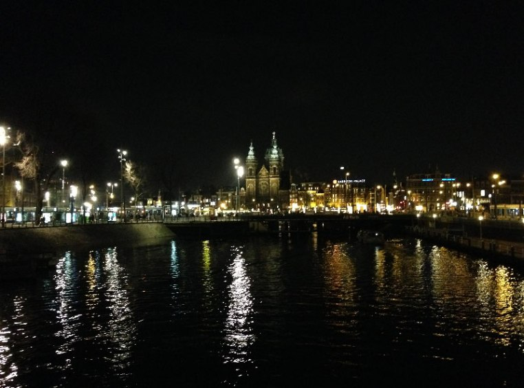 Amsterdam noaptea