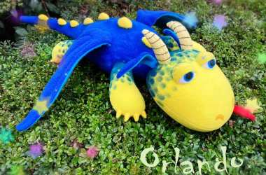 Orlando - jucarie de pluș