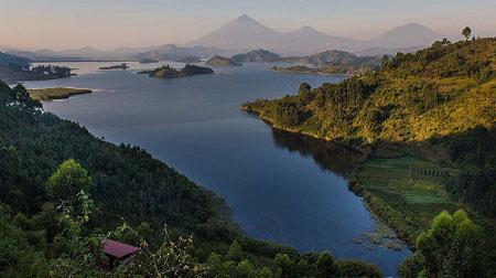 Lake Bunyonyi great views