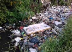Kali Tambak Lumpang Surabaya Tercemar