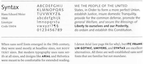 Typography for Lawyers / Boing Boing