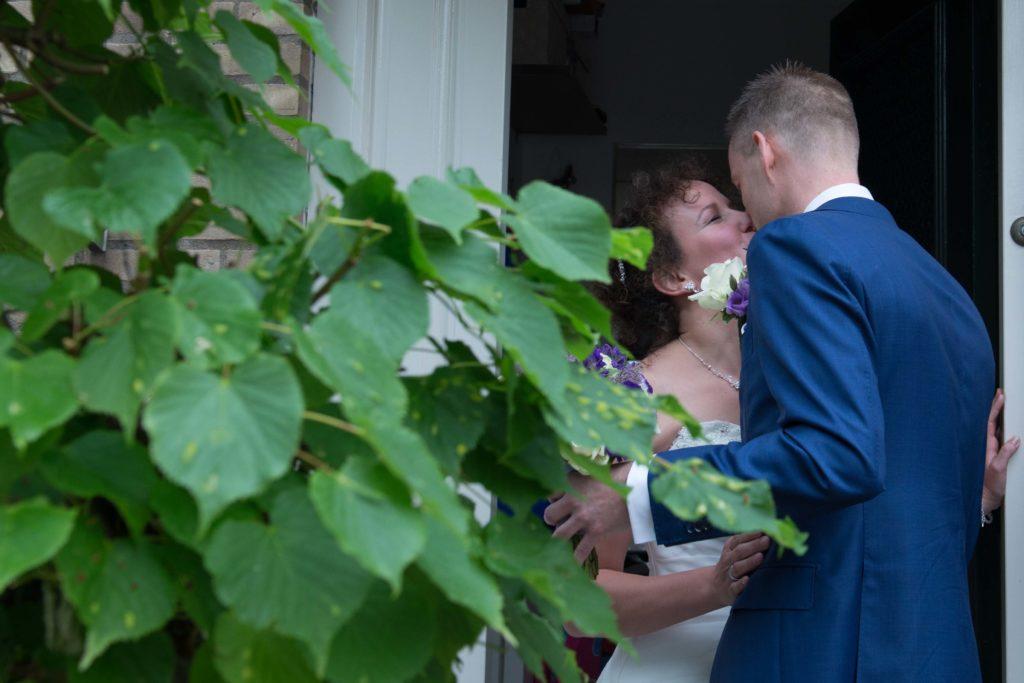 ontmoeting bruidspaar