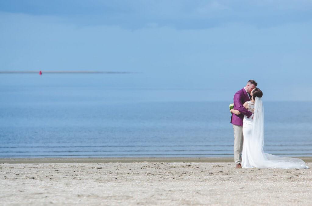 bruidsreportage strand