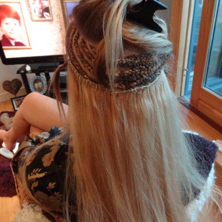 Real Hair Half Head Weave Extensions KK Hair Hair