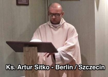 Wtorek 05 maja - ks. Artur Sitko - Szczecin
