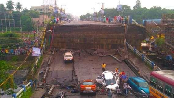 Kolkata Bridge Collapse: One dead, 25 injured