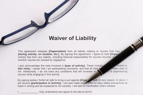 Is A Permission Slip Or Release Of Liability Form Valid?