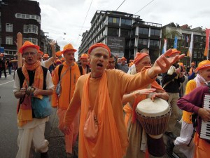KKS during Queensday Harinama