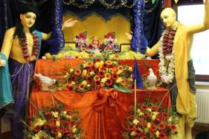 The Vyasapuja Altar