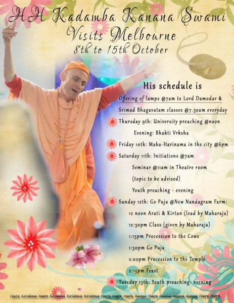 Maharaj Program_October2014