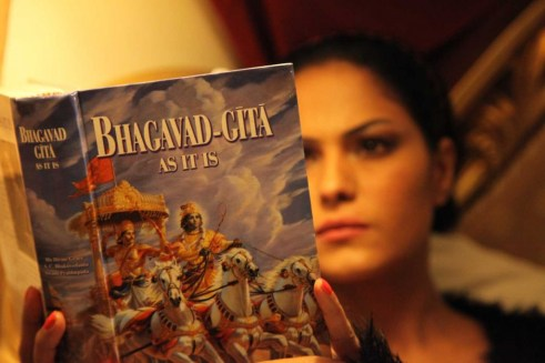 reading bhagavad gita