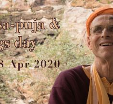 Vyasa-puja & Kings Day 2020
