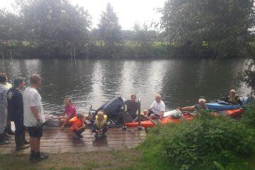 Ruhr-Cleanup-Aktion 2021 am Bootshaus vom Kanuklub Unna