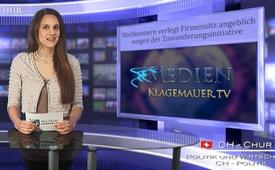 Weltkonzern verlegt Firmensitz...