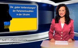 """Die """"guten Vorbereitungen"""" der Parlamentswahlen in der Ukraine"""