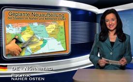 Geplante Neuaufteilung der Staaten im Nahen und Mittleren Osten