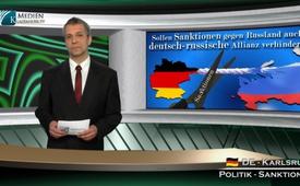 Sollen Sanktionen gegen Russland auch deutsch-russische Allianz verhindern?