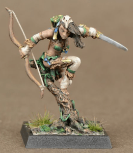 Freebooters Fate, bemalt, Amazonen, Tabletop