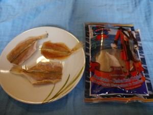 MSDM, Trockenfisch, Fischchips, Hundzahn