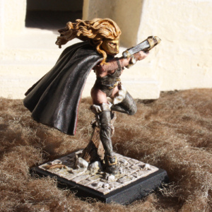 Freebooters Fate, bemalt, Miniatur, Figur, Bruderschaft, Assassine, Adombra