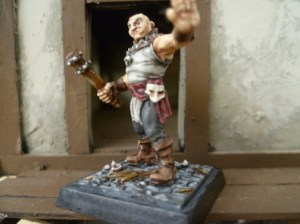 Freebooters Fate, bemalt, Miniatur, Figur, Bruderschaft, Assassine, Battitore