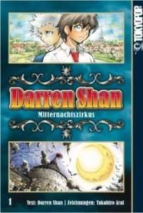 Darren Shan, Mitternachtszirkus, Manga, Bücher